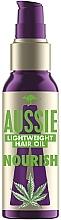 Profumi e cosmetici Olio capelli con semi di canapa australiana - Aussie Miracle Oil Nourish
