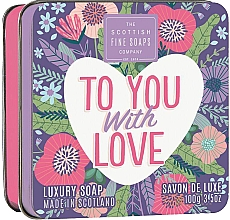 Profumi e cosmetici Sapone - Scottish Fine Soaps To You with Love Soap In A Tin