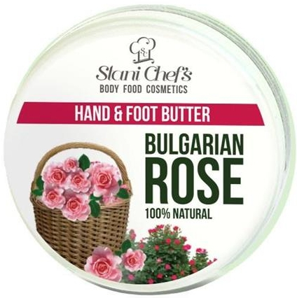 "Crema mani e piedi ""Rosa bulgara"" - Hristina Cosmetics Stani Chef's Bulgarian Rose Hand & Foot Butter"