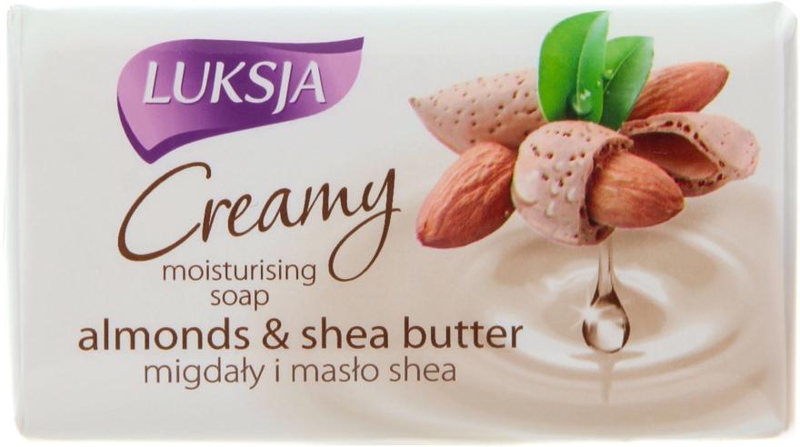 Sapone-crema con mandorle e burro di karité - Luksja Creamy Almond Shea Butt Soap