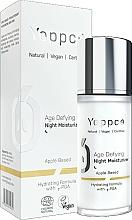 Profumi e cosmetici Crema viso idratante antietà - Yappco Age Defying Moisturizer Night Cream