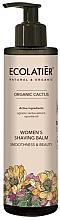 Profumi e cosmetici Balsamo per rasatura, da donna - Ecolatier Organic Cactus Women's Shaving Balm