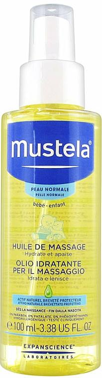 Olio massaggio corpo - Mustela Bebe Massage Oil
