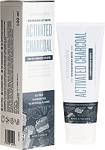 Profumi e cosmetici Dentifricio - Schmidt's Wondermint Activated Charcoal Toothpaste