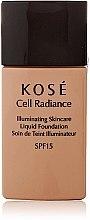 Profumi e cosmetici Fondotinta - Kose Cell Radiance Illuminating Liquid Foundation