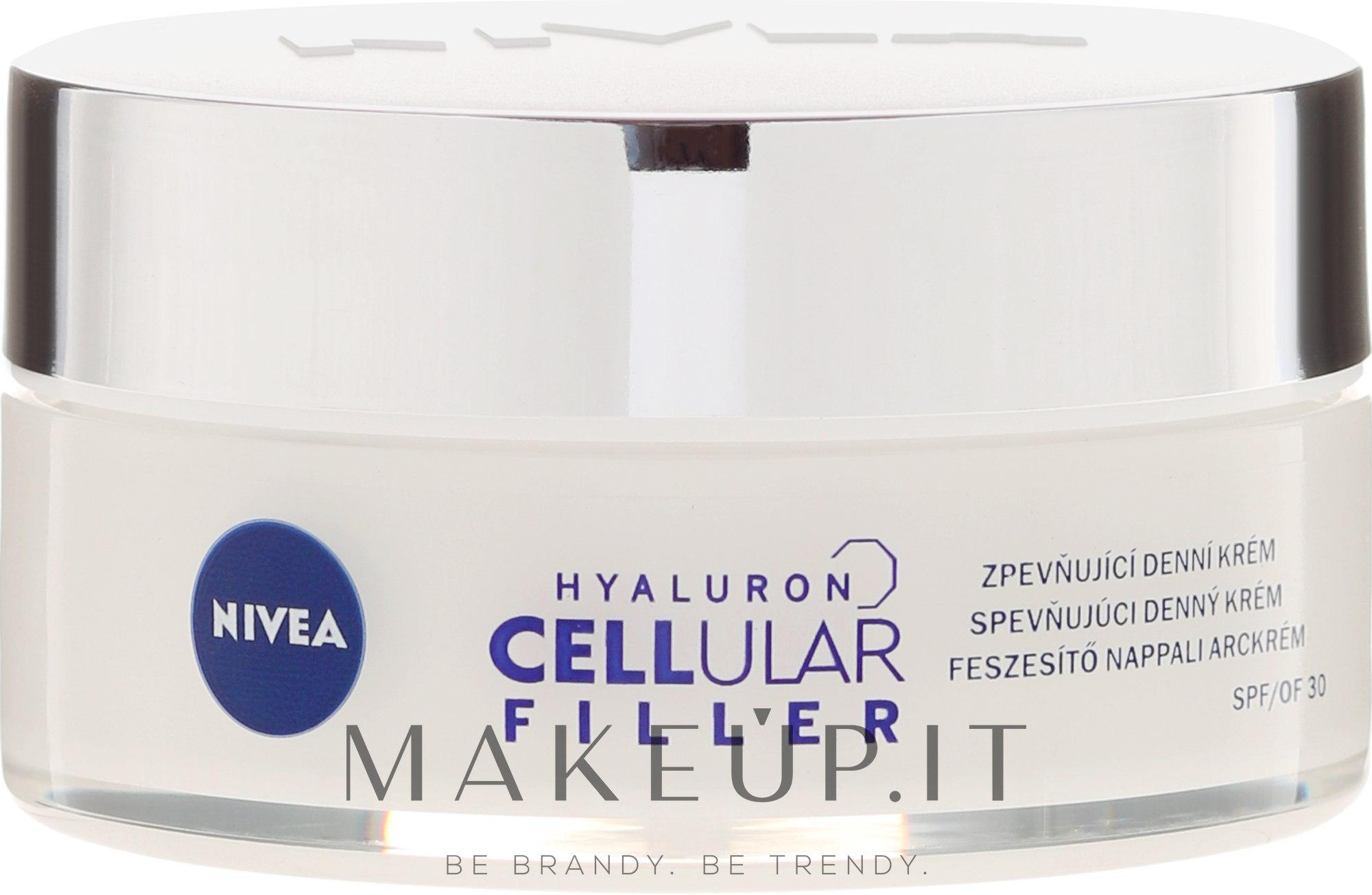 Crema viso da giorno - Nivea Hyaluron Cellular Filler SPF30 — foto 50 ml