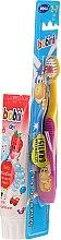 Profumi e cosmetici Set dentifricio+spazzolino per bambini - Bobini 2-7 (toothbrush + toothpaste/75ml)