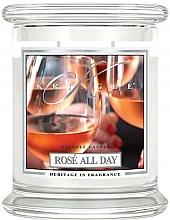 Profumi e cosmetici Candela profumata in vetro - Kringle Candle Rose All Day