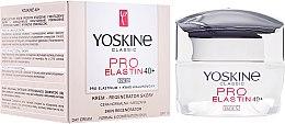 Profumi e cosmetici Crema da giorno, per pelli normali e miste 40+ - Yoskine Classic Pro-Elastin Day Cream 40+