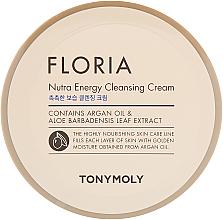 Profumi e cosmetici Crema detergente - Tony Moly Floria Nutra-Energy Cleansing Cream