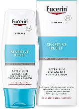 Profumi e cosmetici Crema-gel doposole - Eucerin After Sun Creme-Gel for Sensitive Relief