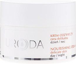 Profumi e cosmetici Crema nutriente per pelli sensibili - Uroda Nourishing Face Cream For Sensitive Skin