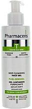 Profumi e cosmetici Gel antibatterico viso - Pharmaceris T Puri-Sebopeel Gel