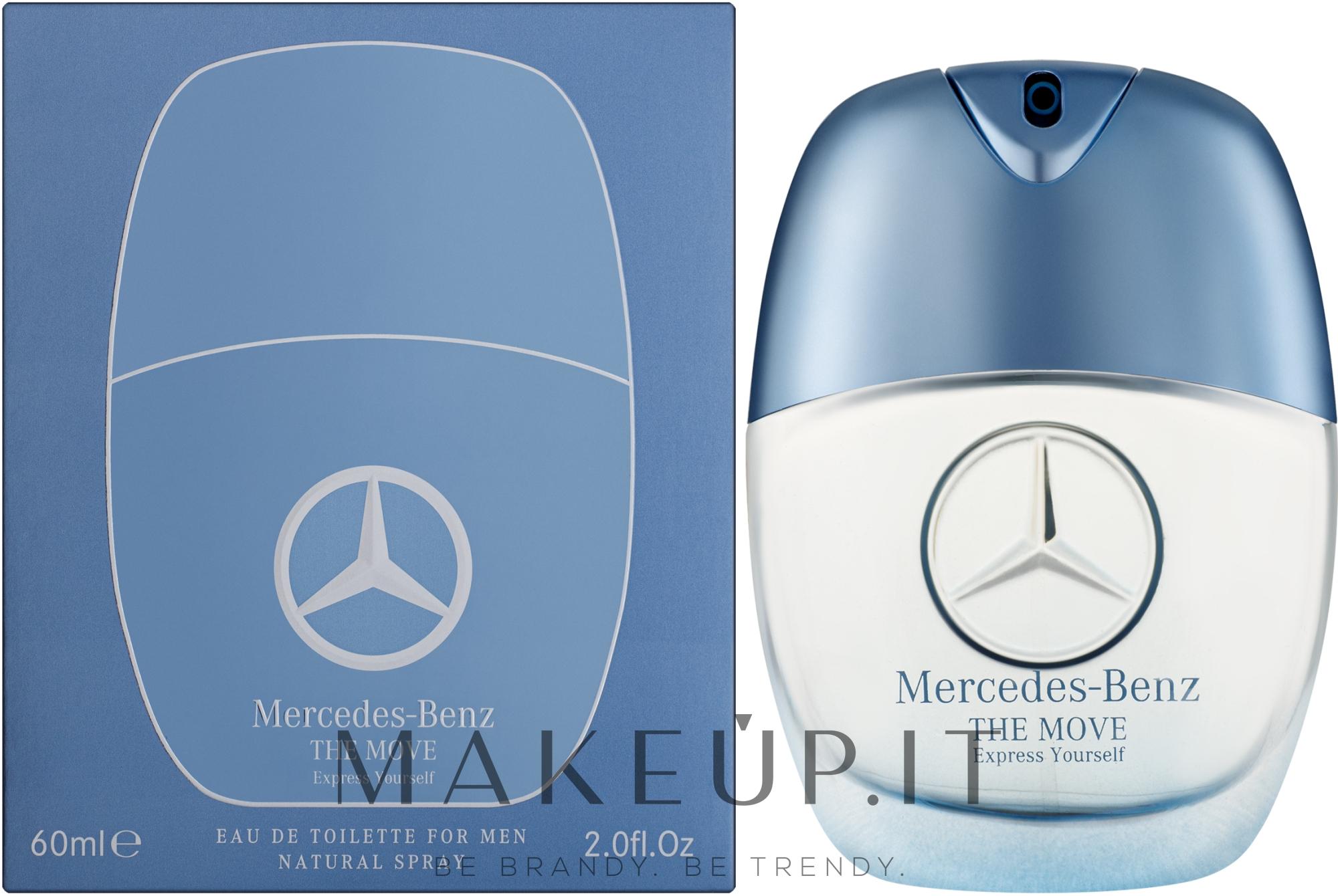 Mercedes-Benz The Move Express Yourself - Eau de Toilette — foto 60 ml