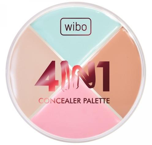 Tavolozza correttore viso - Wibo 4in1 Concealer Palette