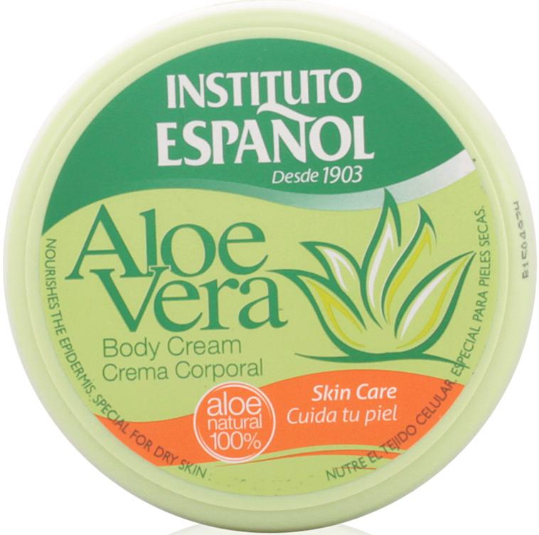 """Crema corpo """"Aloe vera"""" - Instituto Espanol Aloe Vera Body Cream"""