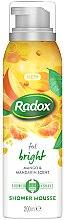 Profumi e cosmetici Mousse da barba - Radox Feel Bright Mango & Mandarin Scent Shower Mousse