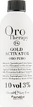 Profumi e cosmetici Ossidante con microparticelle d'oro 3% - Fanola Oro Gold