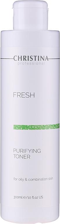 Tonico detergente per pelli grasse e miste - Christina Purifying Toner for oily skin with Lemongrass