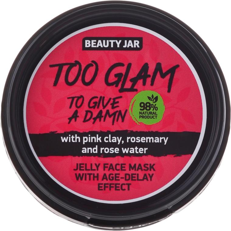 Maschera gelatina lifting - Beauty Jar Too Glam To Give A Damn Face Mask