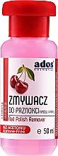 """Profumi e cosmetici Solvente per unghie """"Cherry"""" - Ados Nail Polish Remover"""