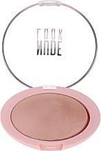 Profumi e cosmetici Cipria - Golden Rose Nude Look Sheer Baked Powder