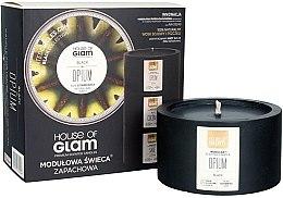 Profumi e cosmetici Candela profumata - House of Glam Black Opium Candle