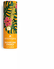 """Profumi e cosmetici Scrub labbra """"Energia della canna da zucchero"""" - Orientana Sugarcane Energy"""