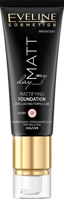 Fondotinta - Eveline Cosmetics Matt My Day Mattifying Foundation