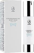 Profumi e cosmetici Crema rivitalizzante antirughe, da notte - Lambre Ultra Hyaluronic