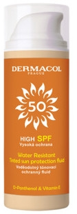 Fluido solare impermeabile - Dermacol Sun Tinted Water Resistant Fluid SPF50