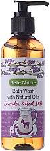 Profumi e cosmetici Gel-doccia con lavanda e latte di capra - Belle Nature Bath Wash Lavender&Goat Milk