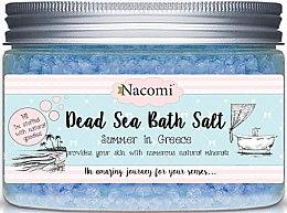 Sale da bagno del Mar Morto, con olio di semi d'uva - Nacomi Natural Greek Dead Sea Salt Bath — foto N1