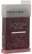 """Profumi e cosmetici Set per pedicure """"L'amore al cioccolato"""" - Voesh Deluxe Pedicure Chocolate Love Pedi In A Box 4 in 1"""
