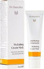 Profumi e cosmetici Maschera-crema idratante - Dr. Hauschka Hydrating Cream Mask