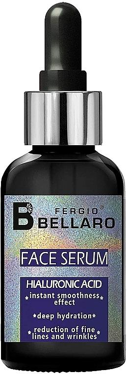 Siero viso all'acido ialuronico - Fergio Bellaro Face Serum Hyaluronic Acid
