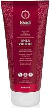 """Profumi e cosmetici Foglio """"Effetto vetro"""" - Khadi Shampoo Amla Volume"""