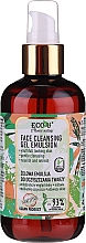 Profumi e cosmetici Emulsione-gel detergente viso - Eco U Face Cleansing Gel Emulsion