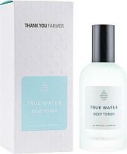 Profumi e cosmetici Tonico viso idratante profondo - Thank You Farmer True Water Tonico