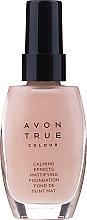 "Profumi e cosmetici Crema fondotinta lenitiva ""Calm Shine"" - Avon Calming Effects"