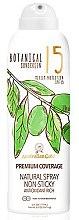 Profumi e cosmetici Spray solare - Australian Gold Botanical Sunscreen Premium Coverage Natural Spray SPF 15