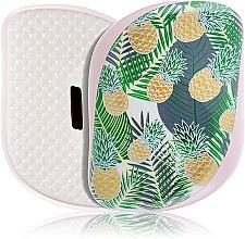 Profumi e cosmetici Spazzola capelli compatta - Tangle Teezer Compact Styler Brush Palms & Pineapples