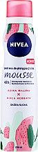 """Profumi e cosmetici Mousse per il corpo """"Lampone selvatico e tè bianco"""" - Nivea Wild Raspberry & White Tea Body Mousse"""