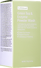 Profumi e cosmetici Polvere detergente enzimatica con tè verde - By Wishtrend Green Tea & Enzyme Powder Wash