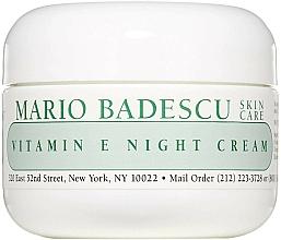 Profumi e cosmetici Crema viso da notte alla vitamina E - Mario Badescu Vitamin E Night Cream