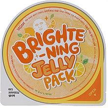 Profumi e cosmetici Maschera in tessuto schiarente con essenza di gel - Yadah Brightening Jelly Pack Face Mask