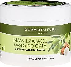 Profumi e cosmetici Burro corpo idratante per pelli secche e normali - DermoFuture