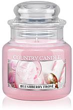 Profumi e cosmetici Candela profumata in vetro - Country Candle Blushberry Frose