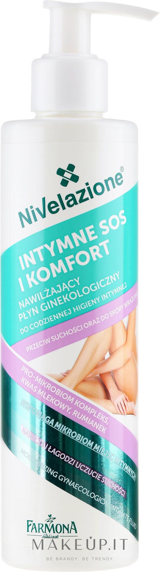 Fluido detergente intimo - Farmona Nivelazione Moisturizing Gynaecological Intimate Fluid — foto 250 ml