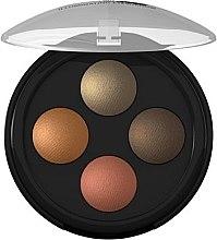 Profumi e cosmetici Ombretto - Lavera Illuminating Eyeshadow Quattro